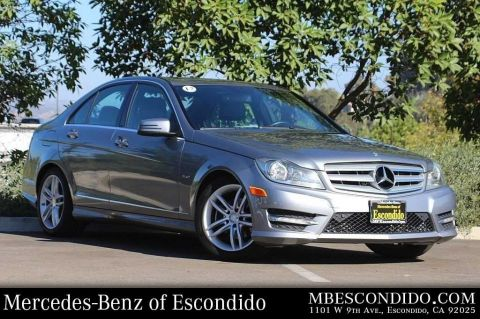 Pre Owned 2012 Mercedes Benz C Class C 250 Sport